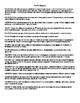 TN  Reading Standards Checklist - 4th Grade