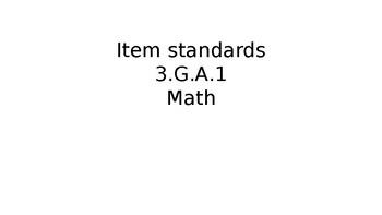 TN Ready Daily Test Practice Math 3.G.A.1