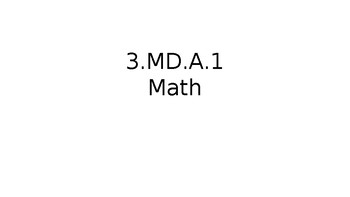 TN Ready Daily Test Practice Math 3.MD.A.1