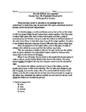 TN Ready ELA Practice (3rd grade) Editing Task