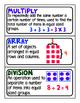 TN Ready Math Lesson 11 Vocabulary Cards