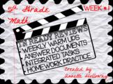 TN Ready Math Reviews Week 1