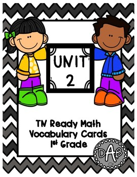 TN Ready Math Vocabulary Cards Unit 2