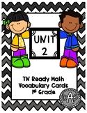 TN Ready Math Vocabulary Cards Unit 2