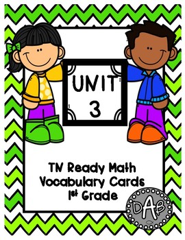 TN Ready Math Vocabulary Cards Unit 3
