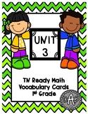 TN Ready Math Vocabulary Cards Unit 3