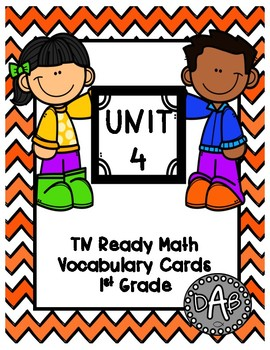 TN Ready Math Vocabulary Cards Unit 4