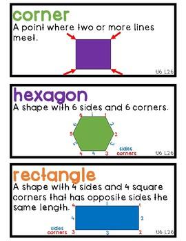 TN Ready Math Vocabulary Unit 6