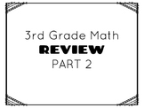 TCAP- Third Grade Math Review Part 2