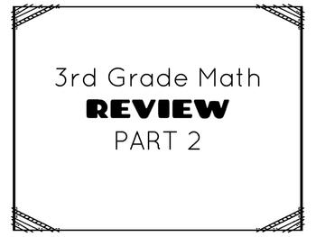TCAP- Third Grade Math Review Part 2