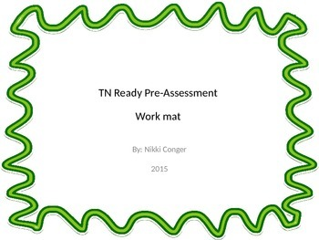 TN Ready Pre-Assessment Work Mats