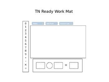 TN Ready Pre-Assessment Work Mats