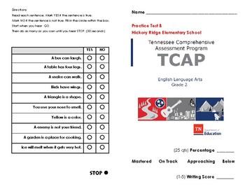 TN Ready TCAP Practice Test B