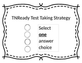 TN Ready Test Taking Strategy Signs