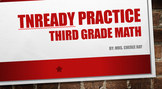 TN Ready Third Grade 3 Math Prep B