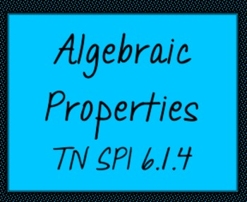 TN SPI 0606.1.4 Properties Worksheet Practice #2