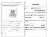 TN SS 4.21 Ben Franklin, Albany Plan, Join or Die Political Cartoon
