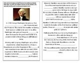 TN SS 4.43 George Washington's presidency: events, successes, and precedents