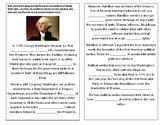TN SS 4.43 George Washington's presidency: events, success