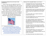 Interpret the meaning of the Star Spangled Banner