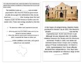 TN SS 4.62  Texas Independence, Alamo, Sam Houston, Crockett