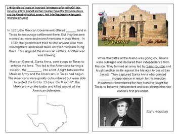 TN SS 4.63 Polk's election, Texas statehood, one term promise