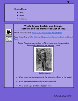 TN SS Standard 5.02 HyperDoc - Impact of Western Expansion on the Great Plains