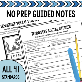 Tennessee Social Studies 4th Grade Worksheets NEW ...