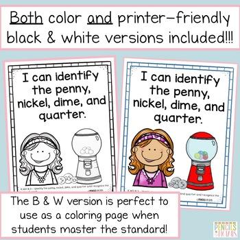 TN Standards I Can Kindergarten MATH Statements - Tennessee Academic Standards