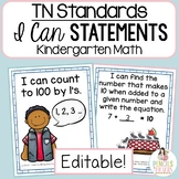 TN Standards I Can Statements