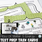 TN TCAP 5th Grade Science Review Task Cards ~ Flow of Matter and Energy