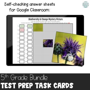 TN TCAP 5th Grade Science Task Cards ~ MEGA Bundle ~ Life Physical Earth