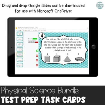 TN TCAP Prep 5th Grade Science Task Cards ~ Physical Science Bundle