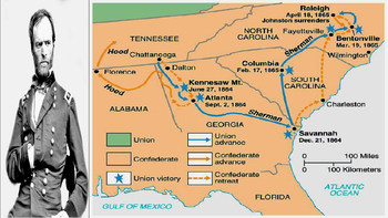 TN battles and the end of the Civil War
