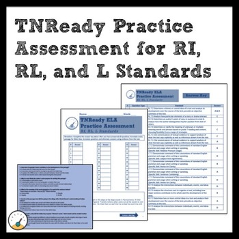 TNReady ELA Practice Assessment for RI, RL, and L Standards