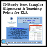 TNReady Item Sampler Alignment and Teaching Points for Mid