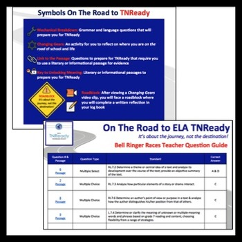 TNReady ELA RI & RL Practice + Written Response Student Motivation
