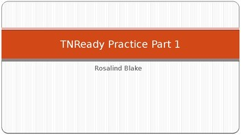 Questar/TNReady Practice Part 1
