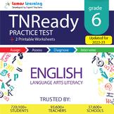 Online TNReady Practice test, Printable Worksheets, Grade 6 ELA - Test Prep
