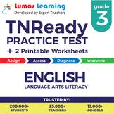 TNReady Practice Test, Worksheets & Remedial Resources - 3rd Grade ELA Test Prep