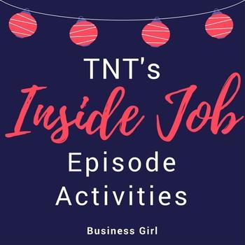 TNT's Inside Job TV Show Viewing Activities