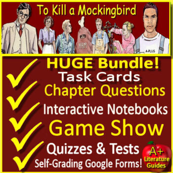 To Kill a Mockingbird Novel Study Unit