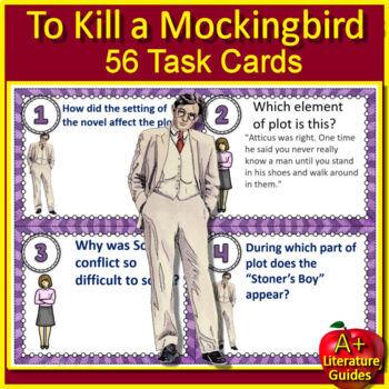 To Kill a Mockingbird Novel Study Print + Google Paperless w/ Self-Grading Tests