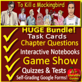 To Kill a Mockingbird Novel Study Unit: Print Google Paperless SelfGrading Tests