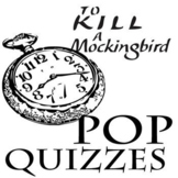 TO KILL A MOCKINGBIRD 24 Pop Quizzes Bundle