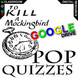 TO KILL A MOCKINGBIRD 24 Pop Quizzes (Created for Digital)