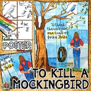 TO KILL A MOCKINGBIRD, COLLABORATIVE POSTER, WRITING ACTIVITY