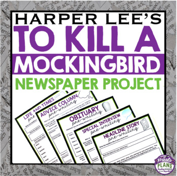 TO KILL A MOCKINGBIRD CREATIVE FINAL PROJECT