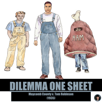 TO KILL A MOCKINGBIRD: DAILY DILEMMA ONE SHEET