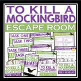 TO KILL A MOCKINGBIRD ESCAPE ROOM NOVEL ACTIVITY